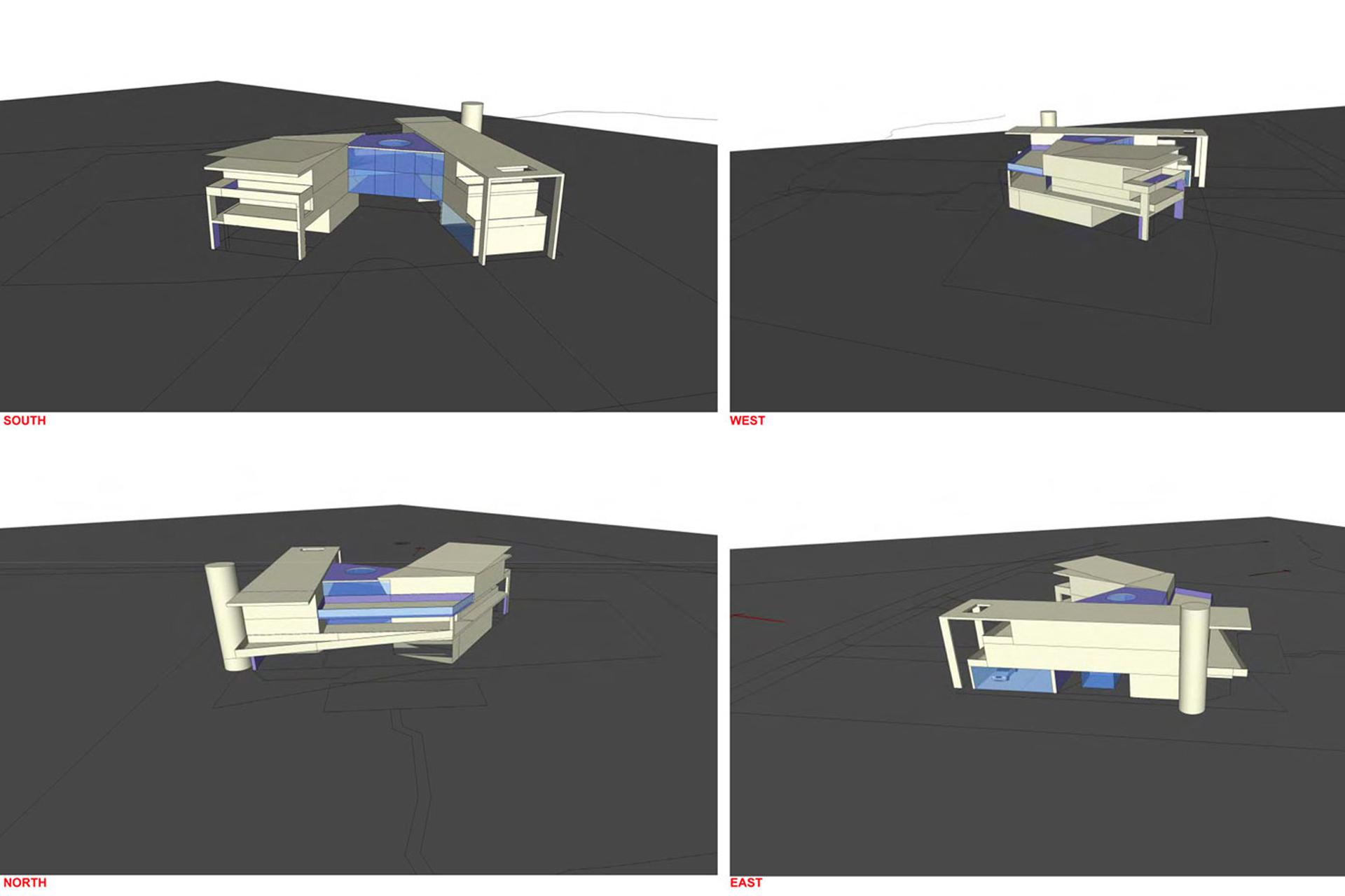 Mid-Ocean Residence design