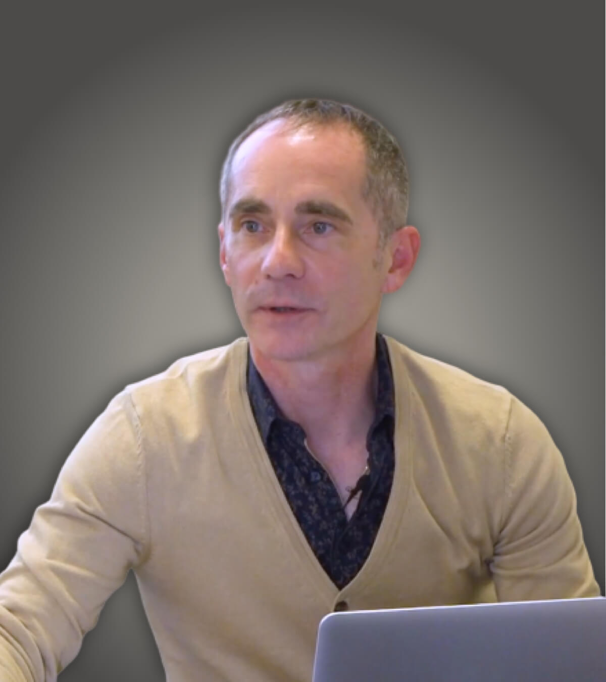 Philippe Boudes, infirmier libéral et formateur sur les conduites addictives pour Santé Académie