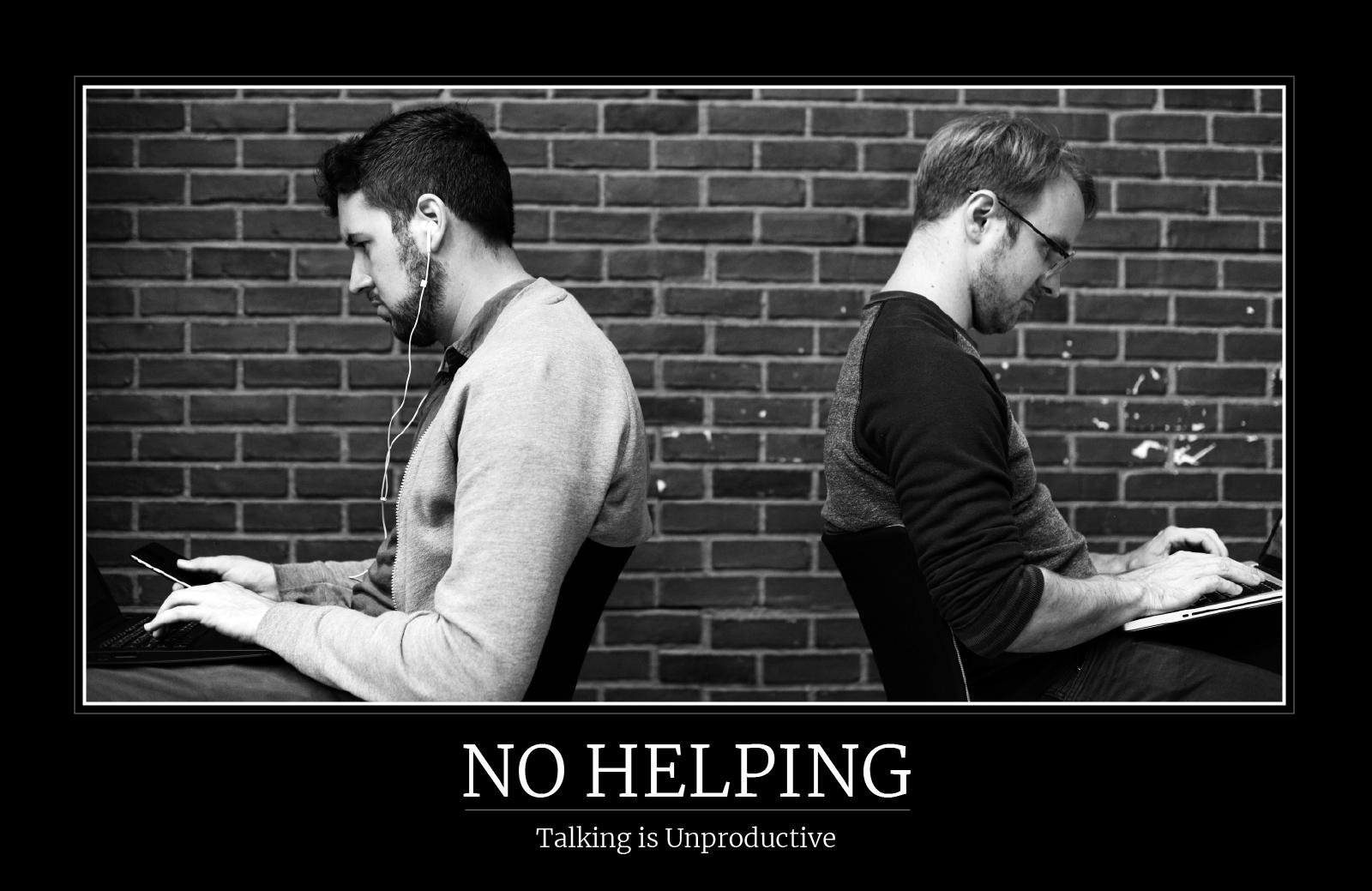 No Helping