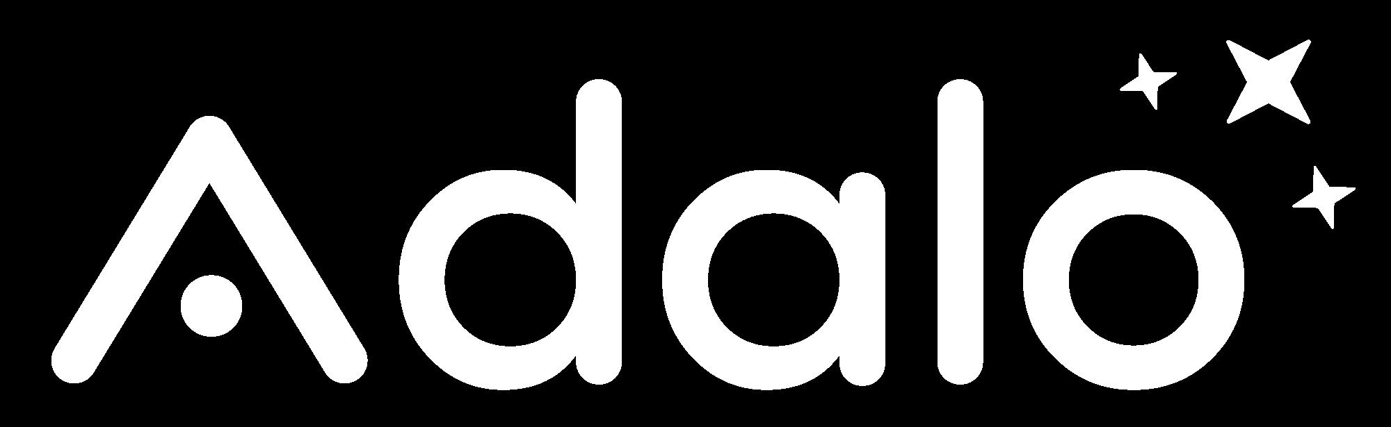 Adalo Logo White