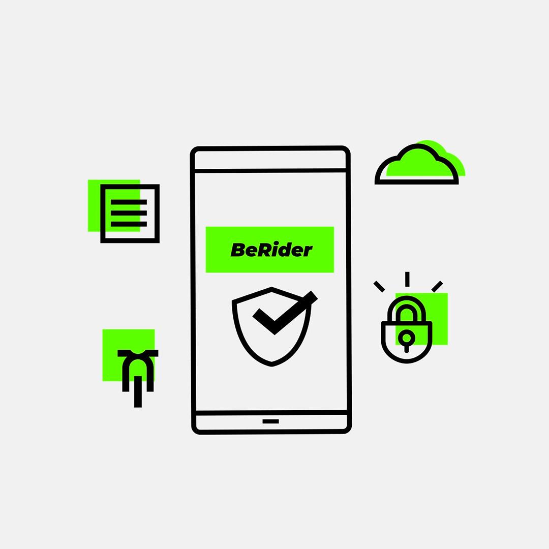 BeRider, ochrana osobních údajů a GDPR