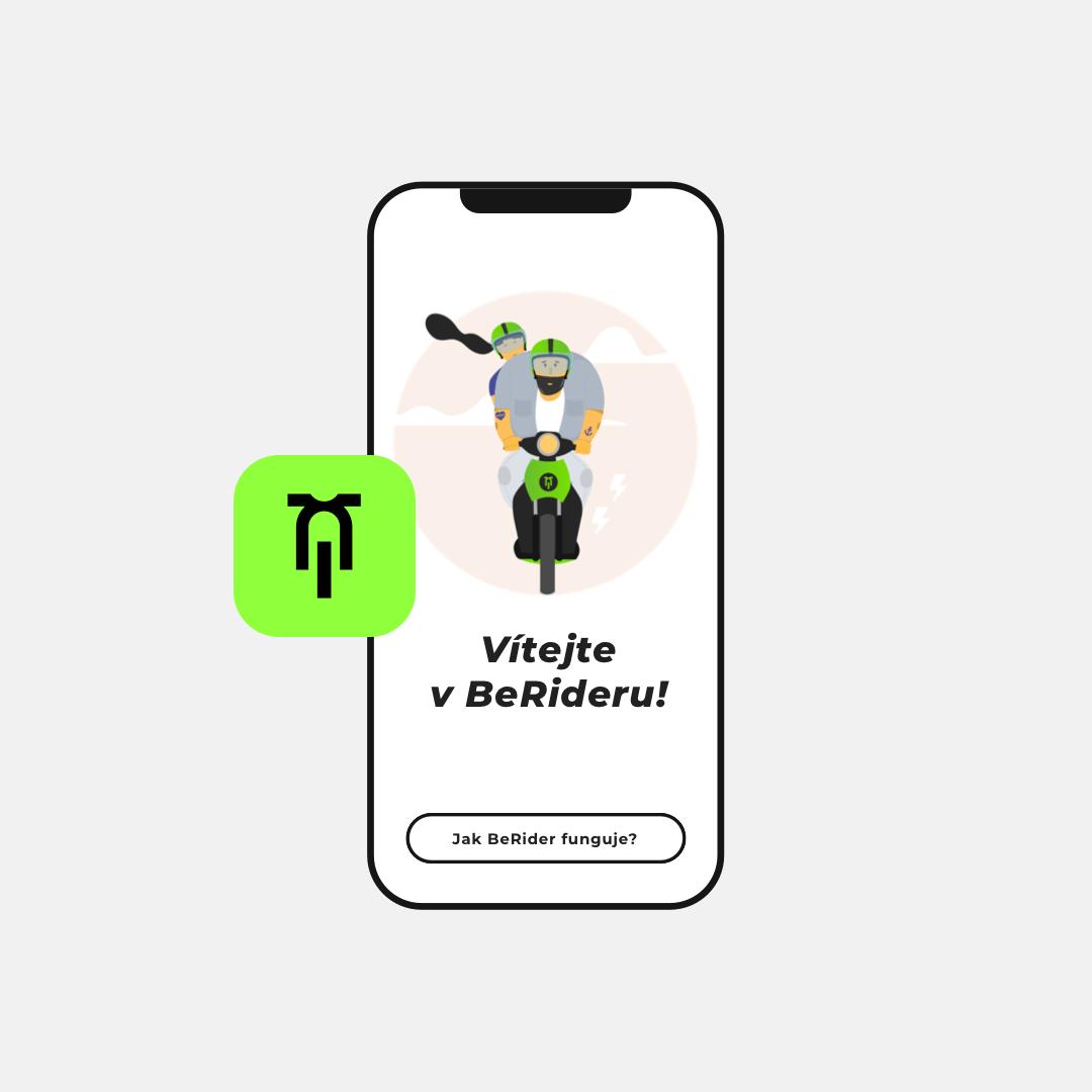 Představujeme novou aplikaci BeRider
