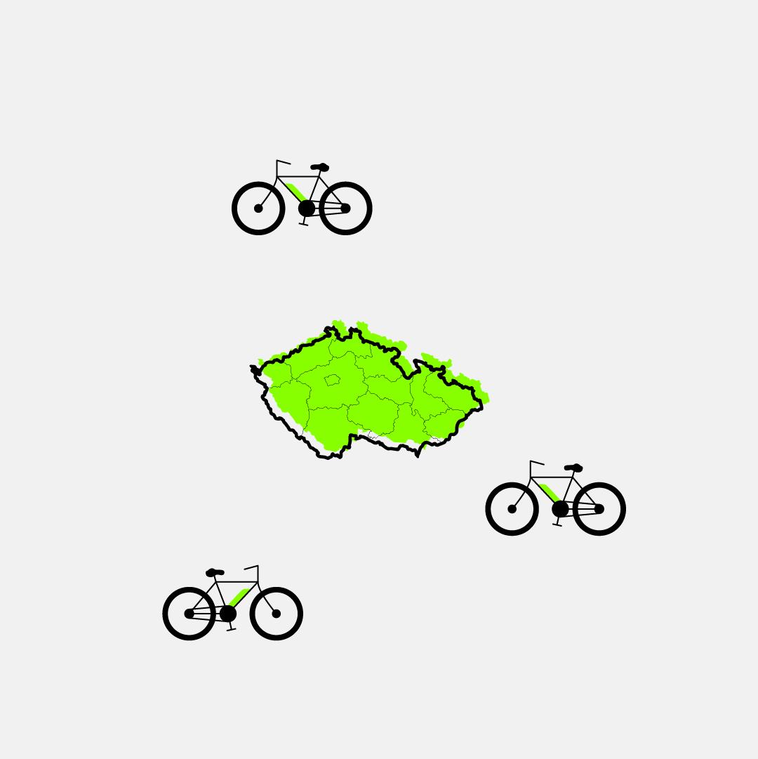 Jen vy apříroda: Tipy na výlety na kole
