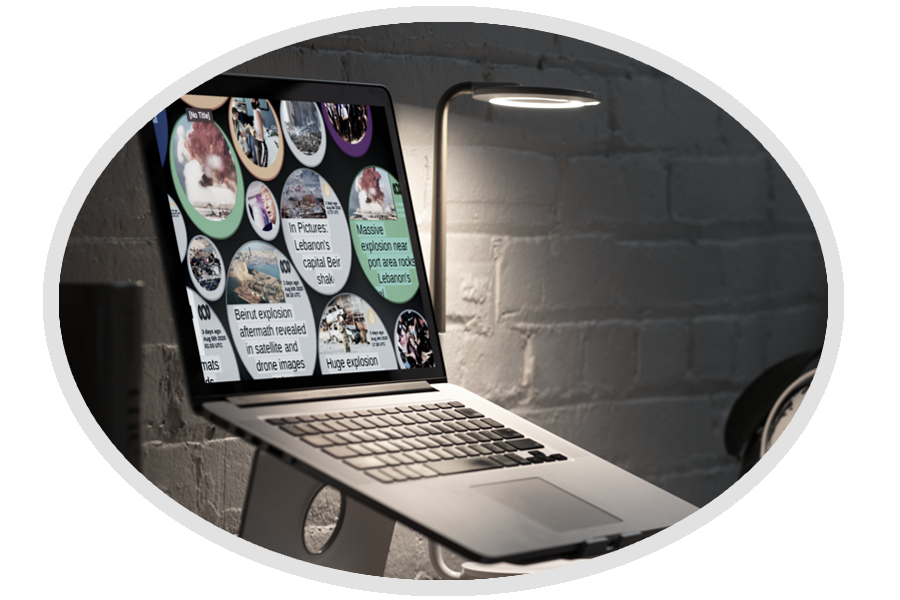 Picture of MediaSphere UI