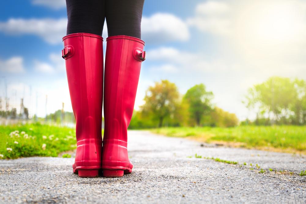 Rain Boots on a Sunny Day