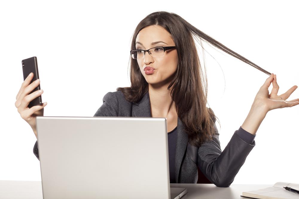 Selfies Invade Workplace