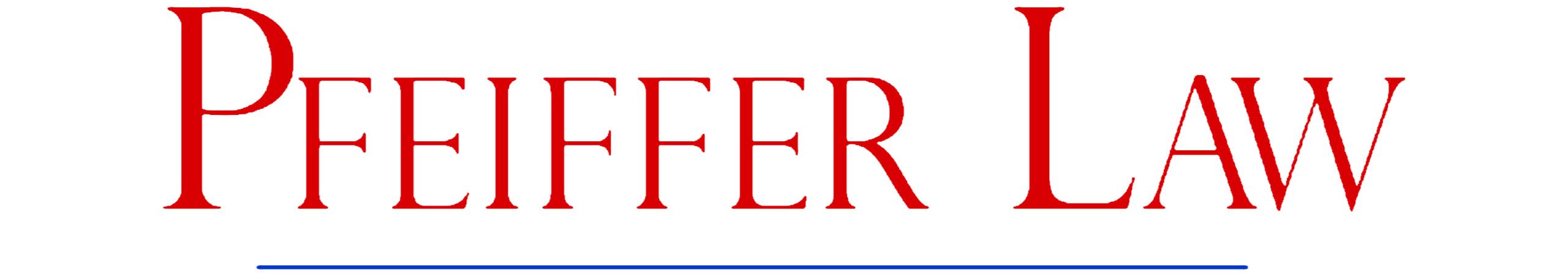 Pfeiffer Law
