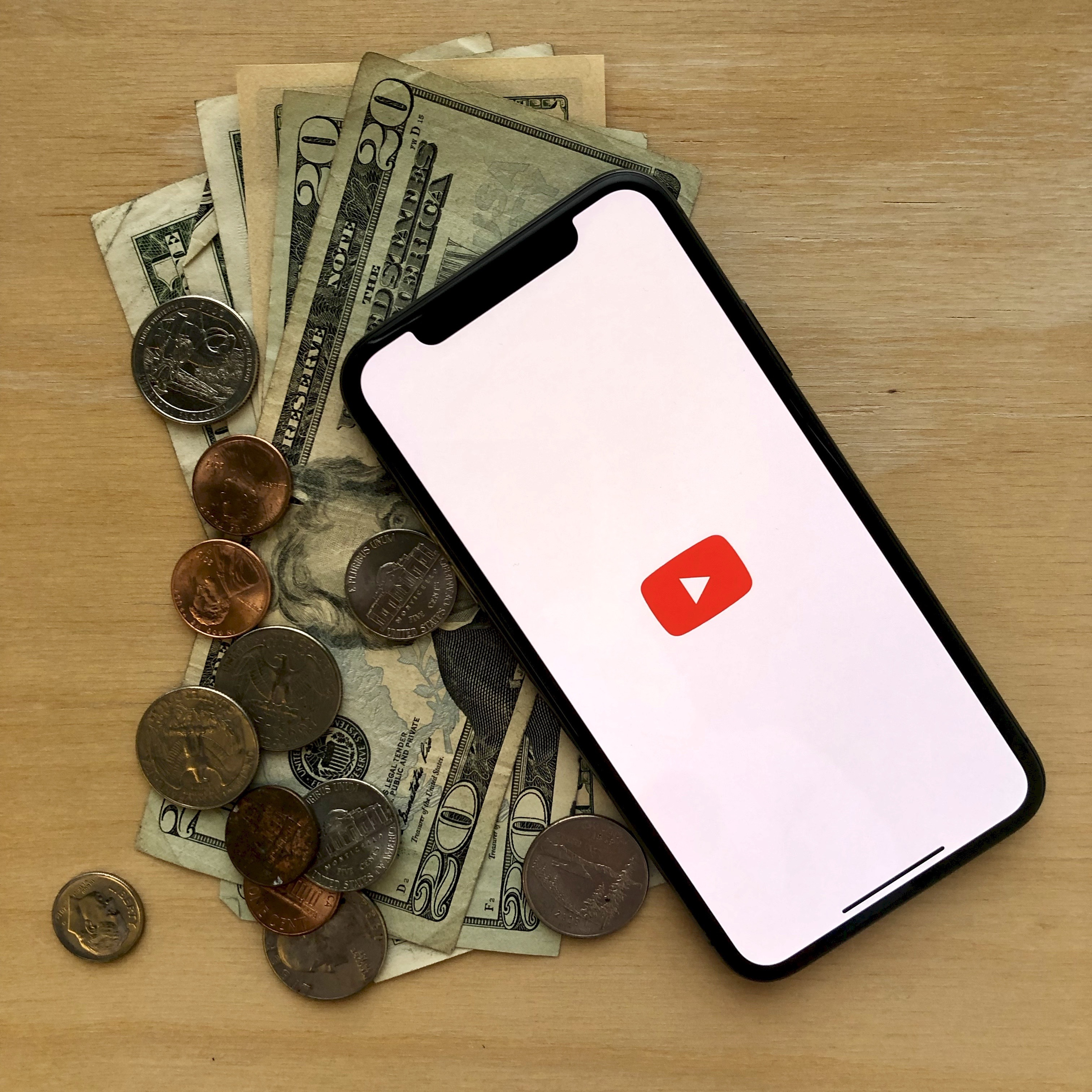 YouTube monetization Photo by Pfeiffer Law