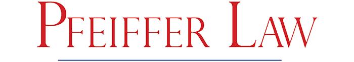 Pfeiffer Law Logo