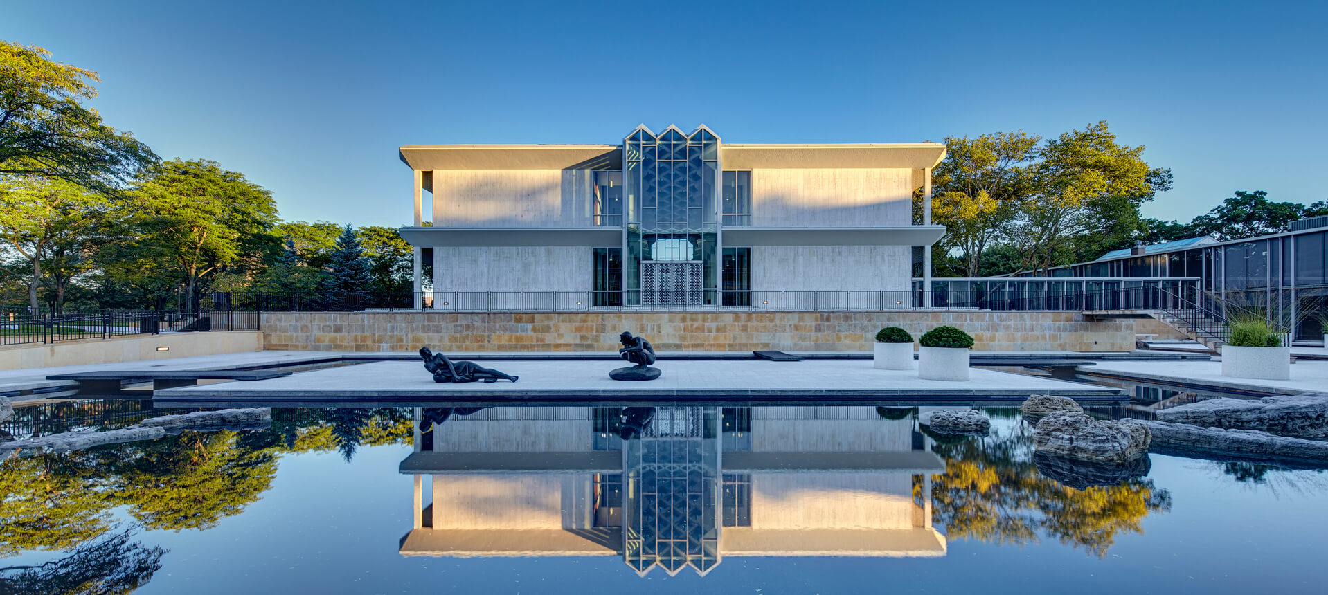 McGregor Reflecting Pool & Sculpture Gardens — Quinn Evans