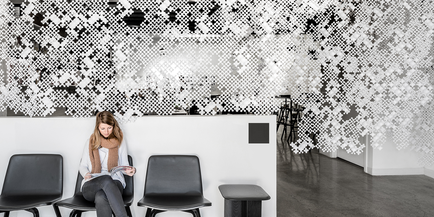 Veil Modular Partition System designed by Box Clever