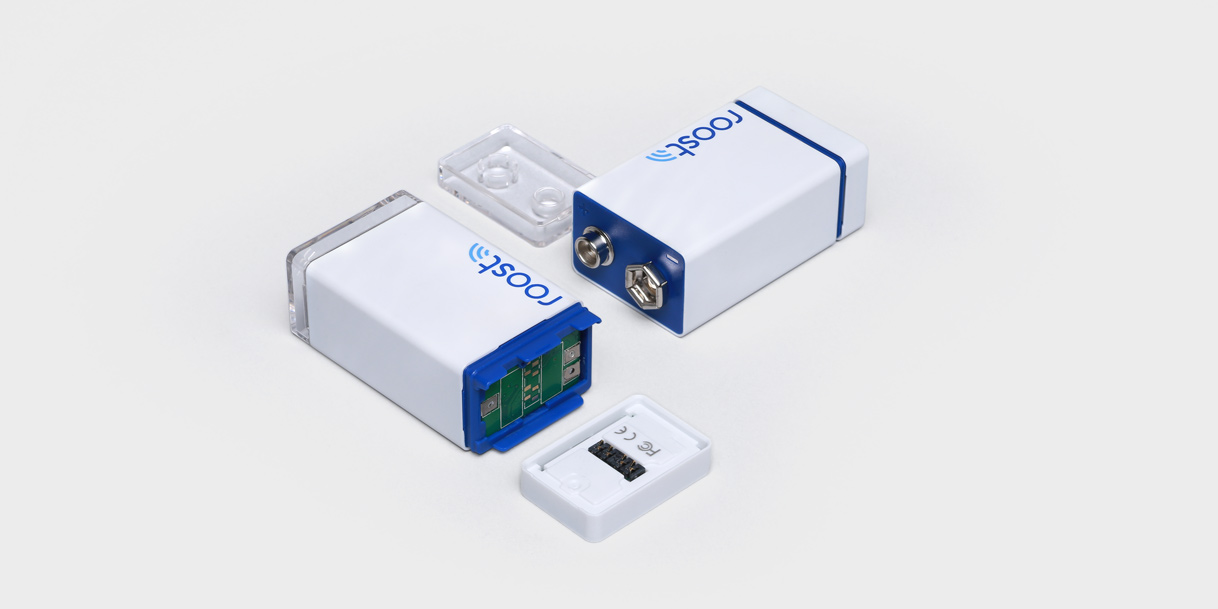 Roost Smart Battery designed by Box Clever