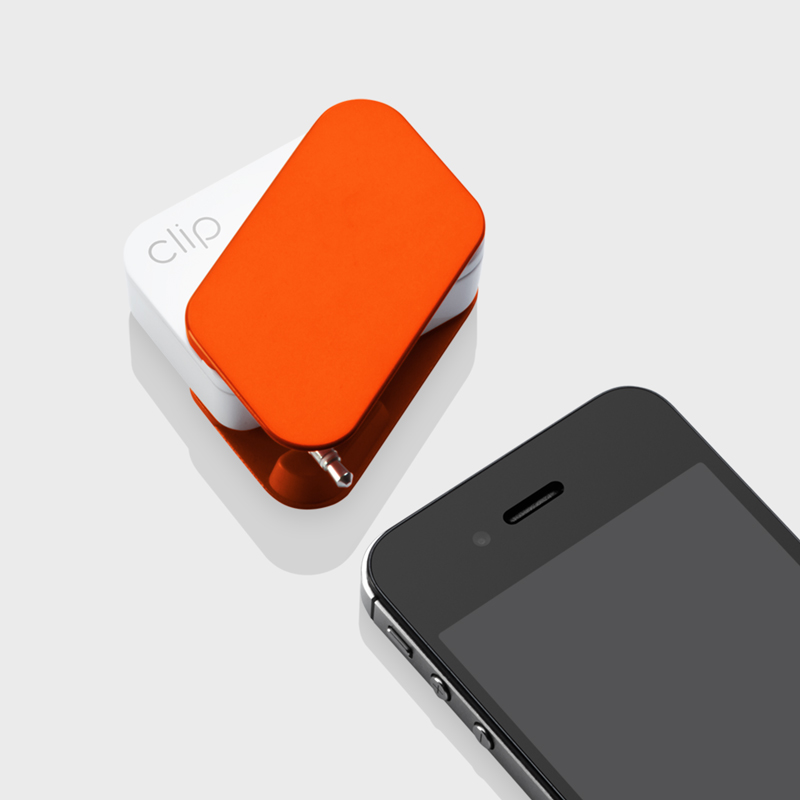 Clip Mobile Payment Reader designed by Box Clever