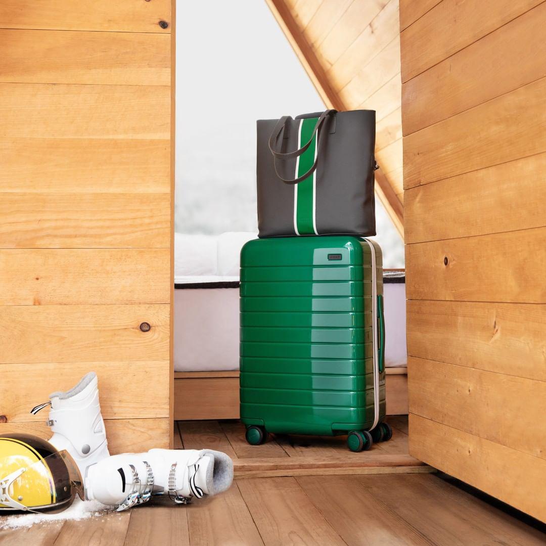 Away Luggage social media post