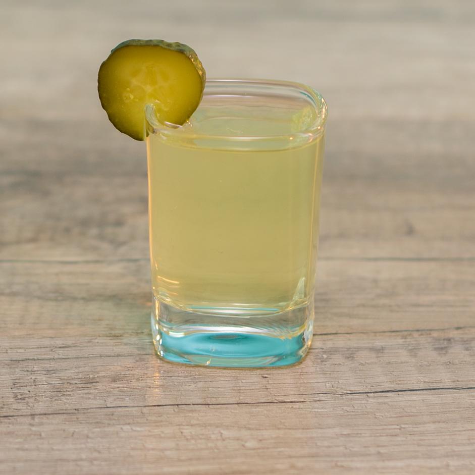 Pickle Shot - Tipsy Bartender
