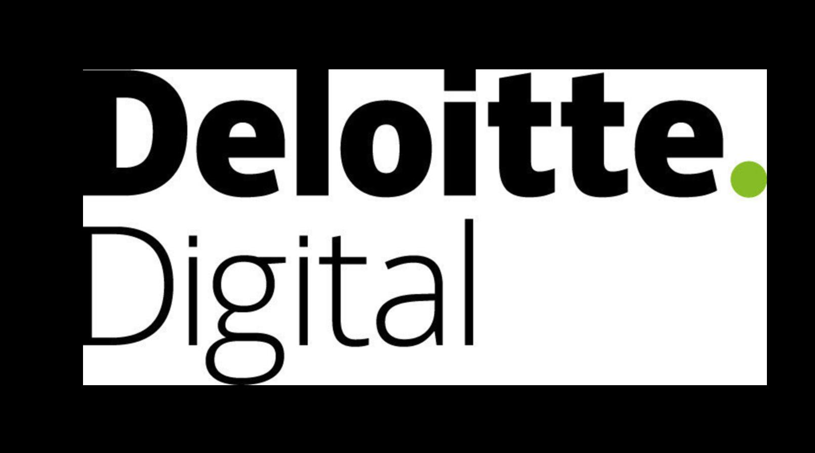 Logo for Deloitte Digital