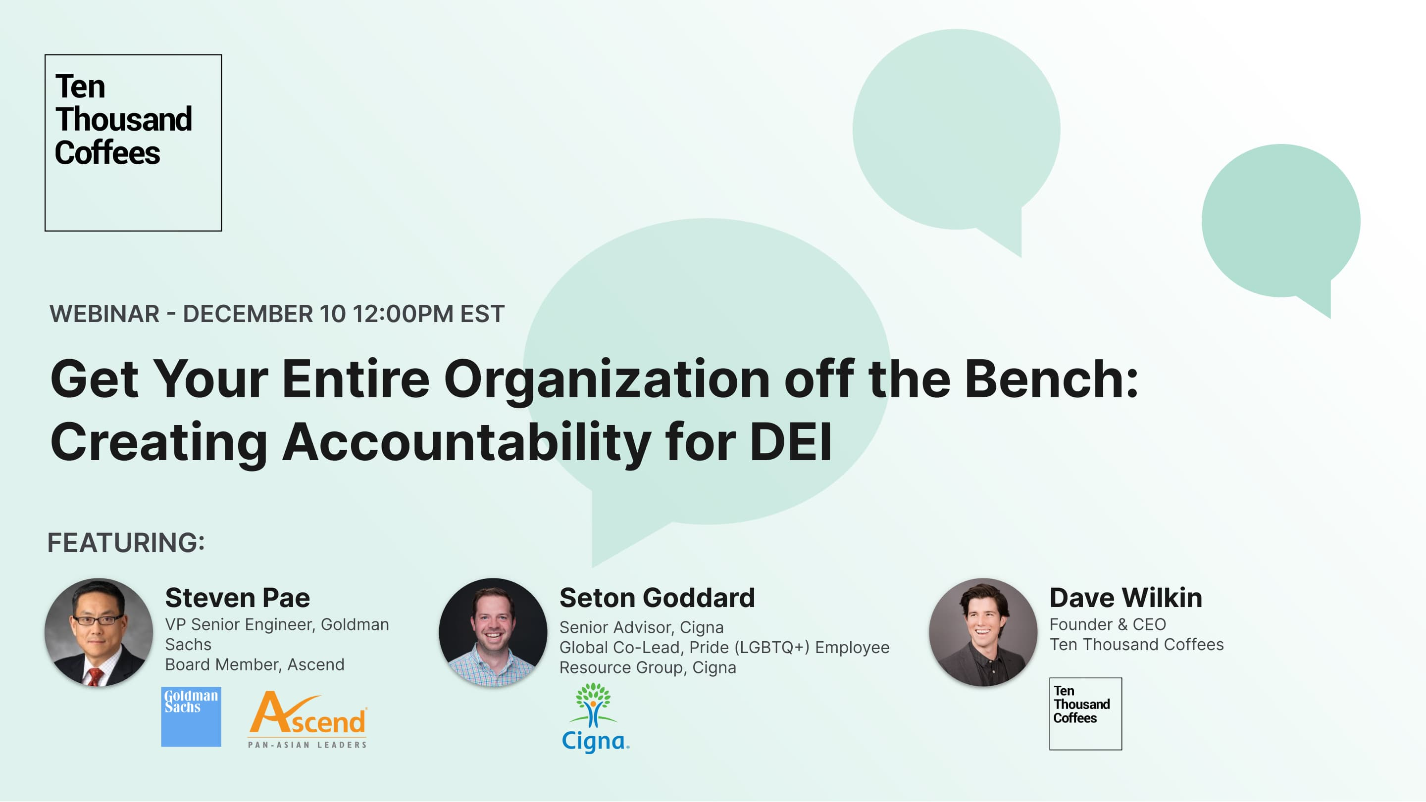 "Webinar image for ""Get Your Entire Organization off the Bench: Creating Accountability for DEI"""