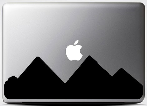 pyramids-laptop-sticker