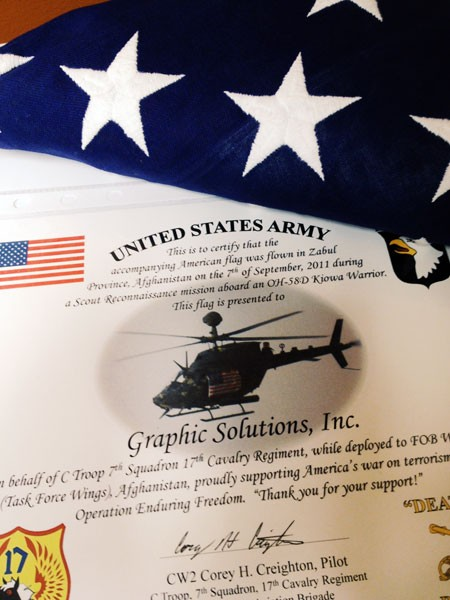 american-flag-donated-to-graphic-solutions-inc