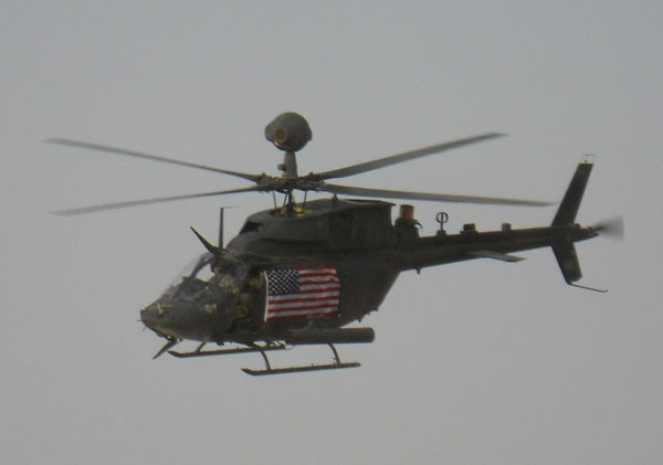 helicopter-with-american-flag