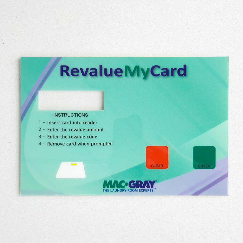 Product Photo of a Graphic Overlay made for Revalue My Card