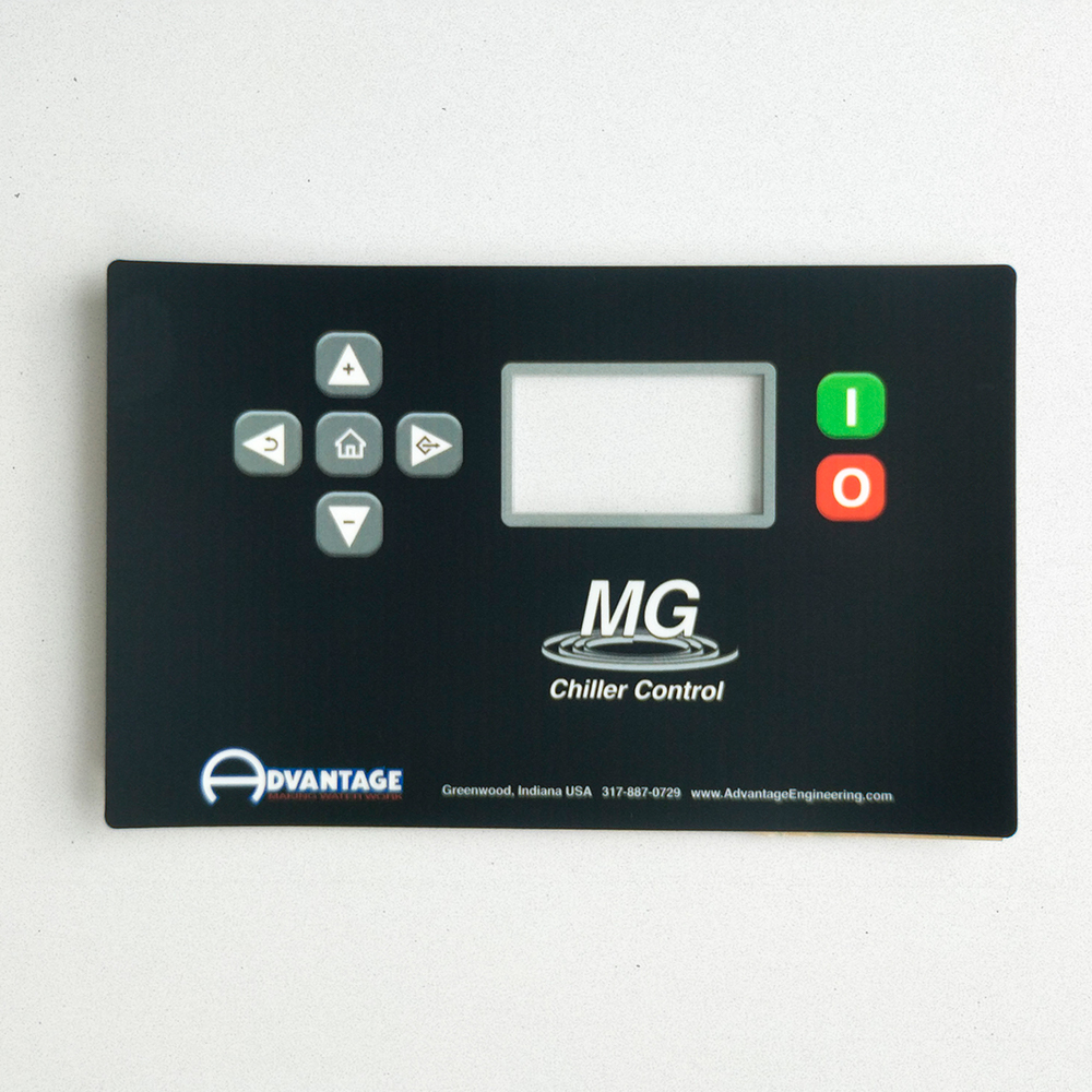 Black graphic overlay with controls and a see-through window.