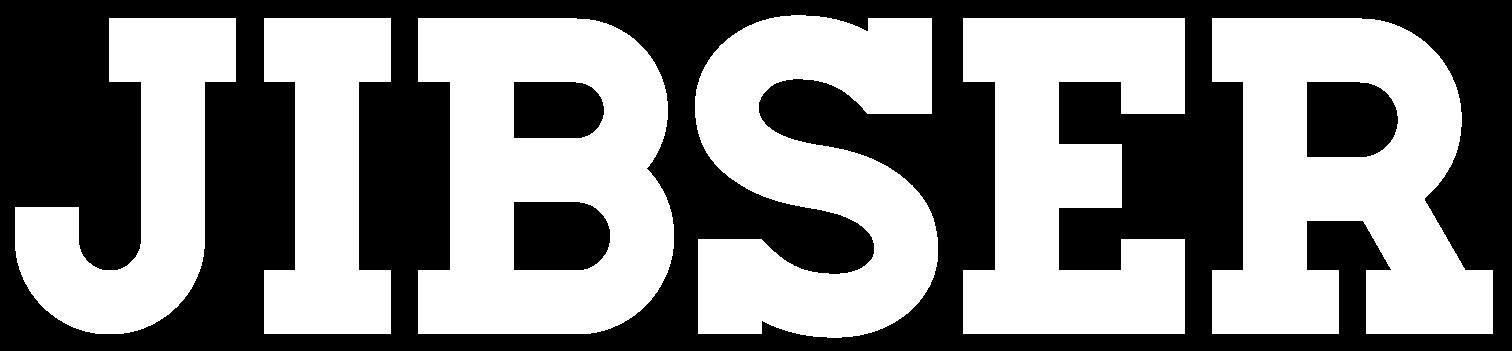 Jibser logo white