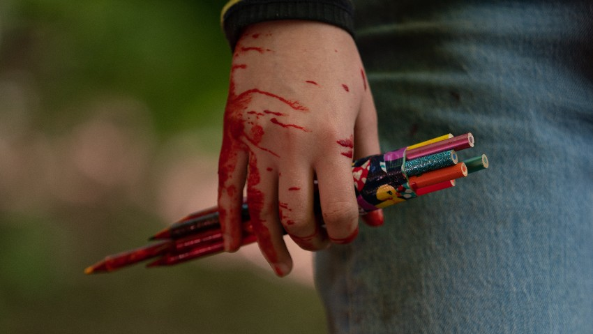 Killing Nazis With Crayons: Exclusive Pics From The Set Of 'Becky'