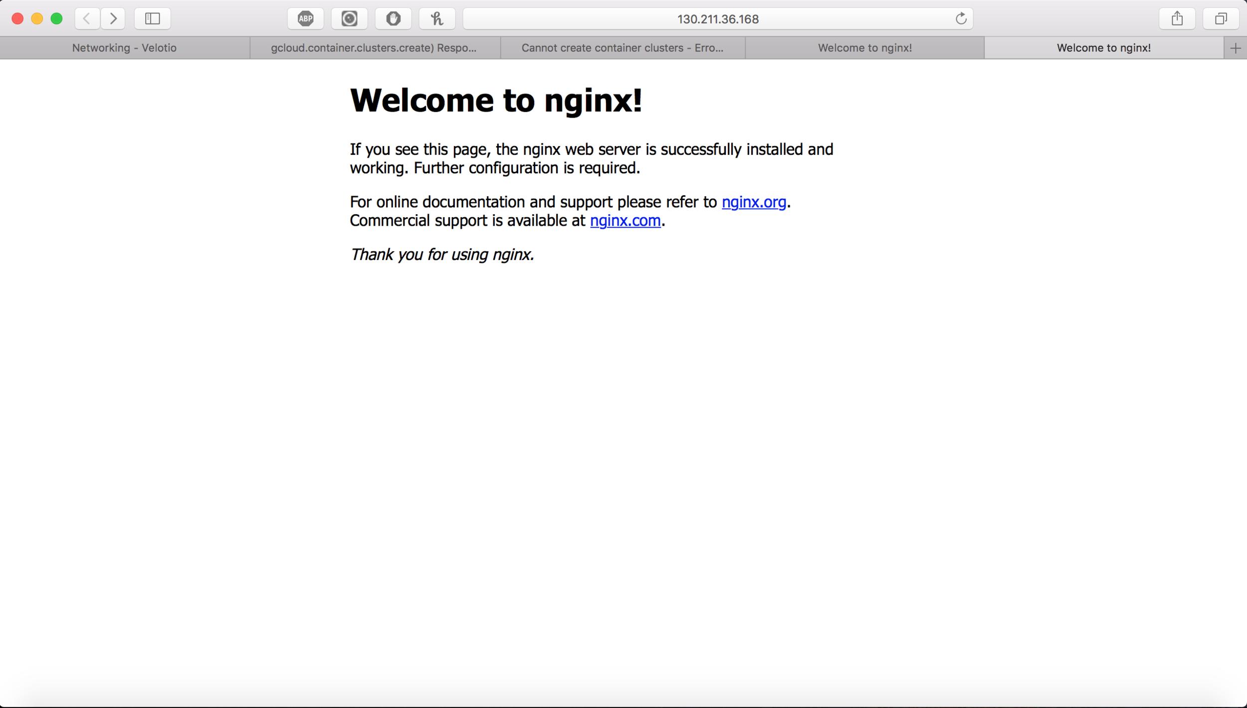 Nginx and Eco-server