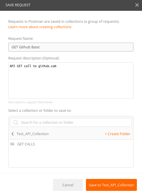 Postman - API Call
