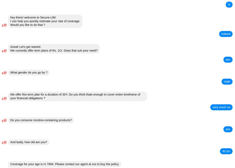 Sample Bot Conversations