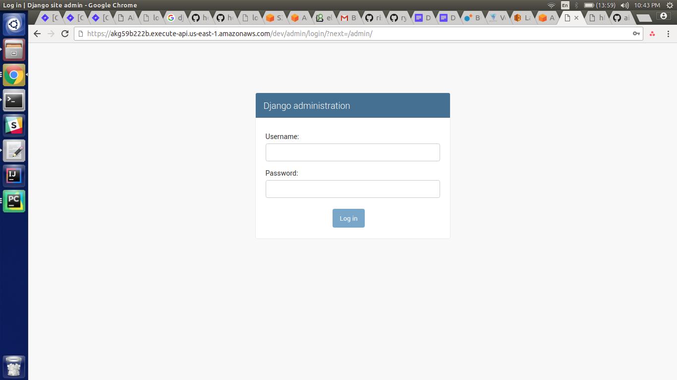 Launching Django Application