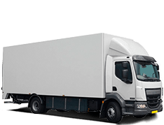 autobestickeren vrachtwagen
