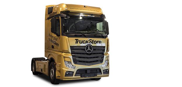 Truckstore - Vrachtwagen bestickering