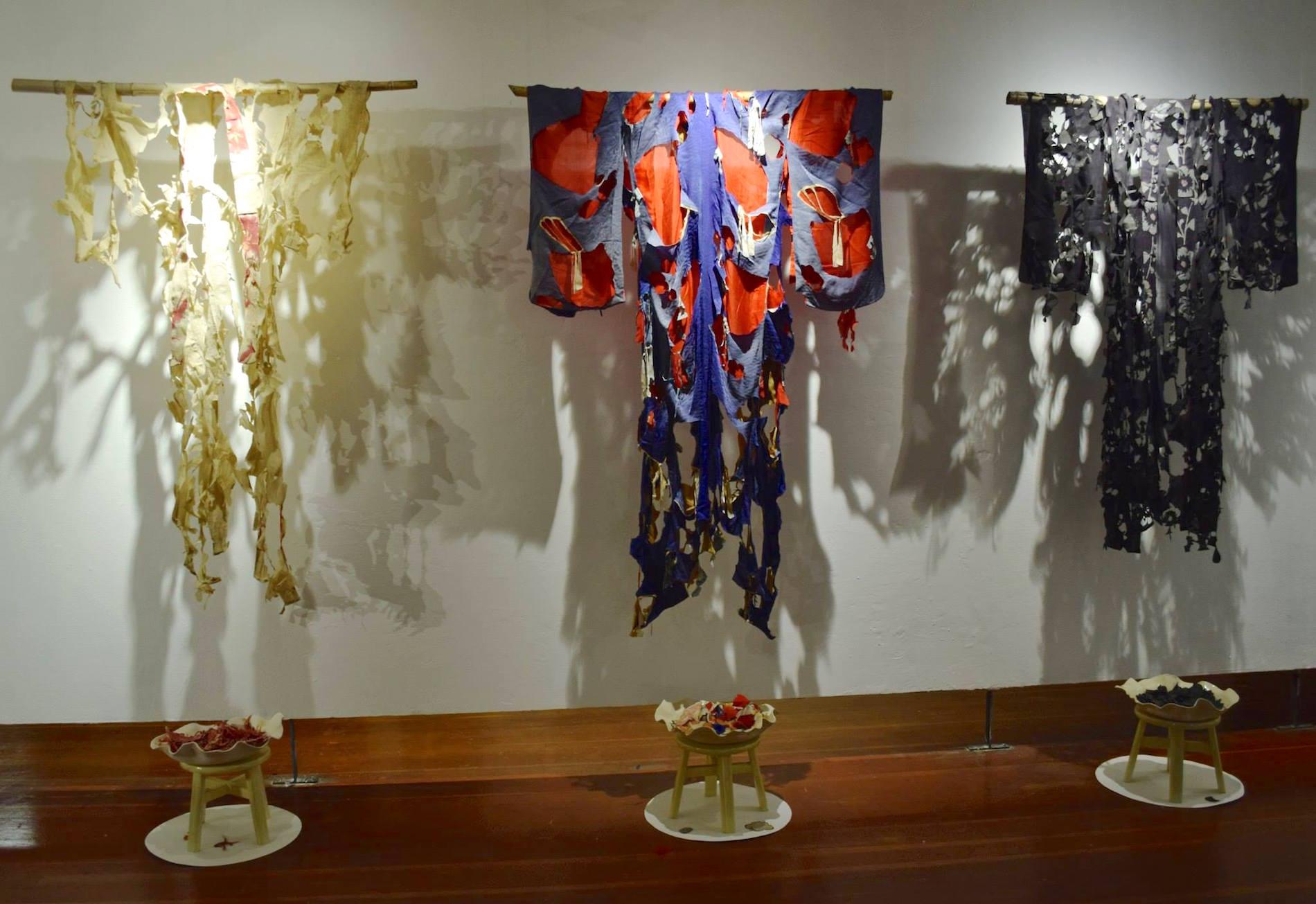 Deconstructed Kimono installation