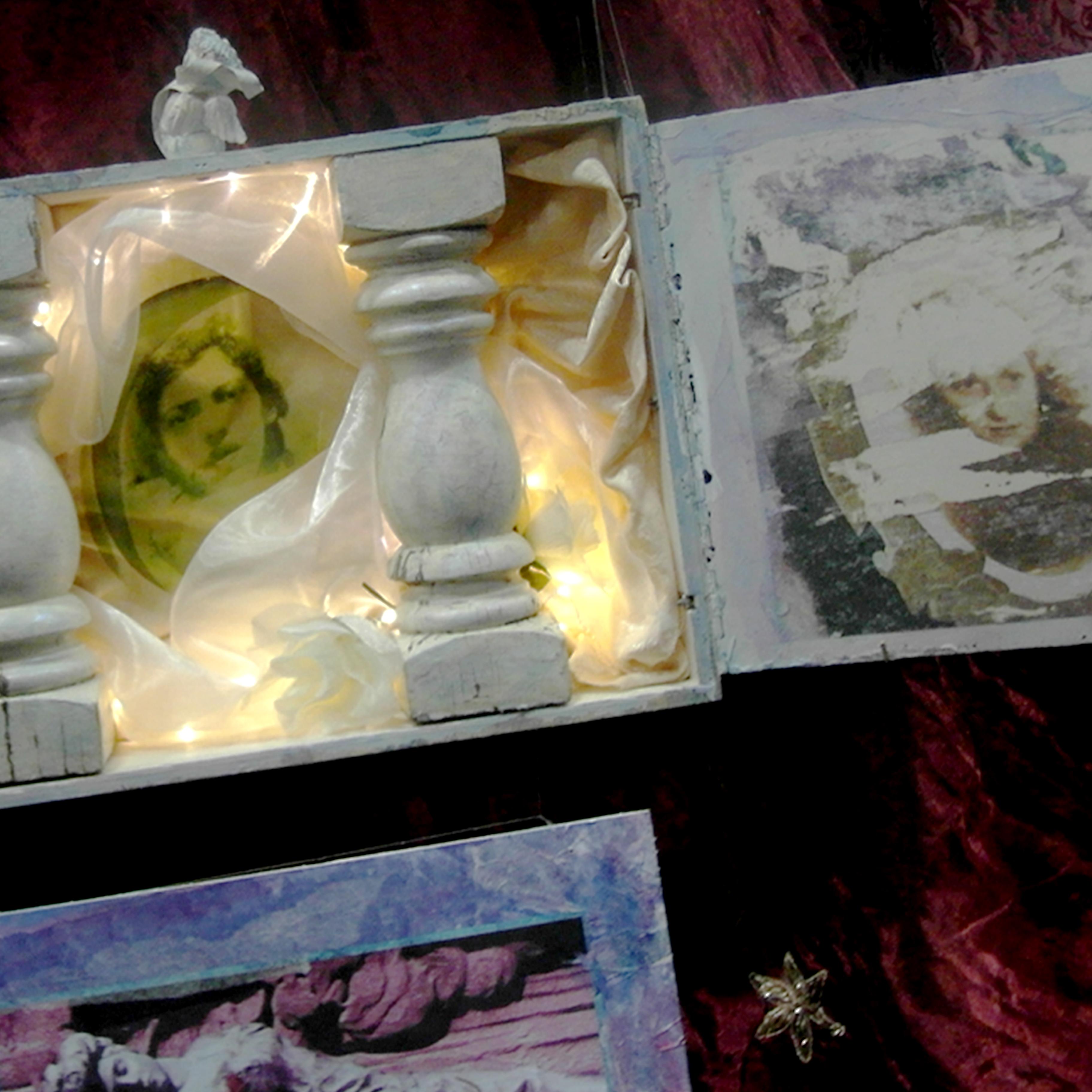 Memento Mori, installation, 10 x  35ft