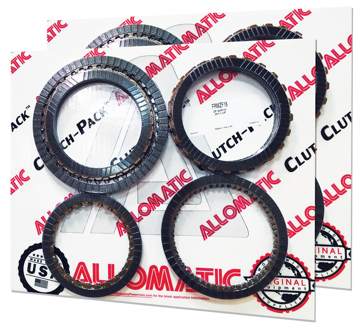 Allomatic Friction Clutch-Packs