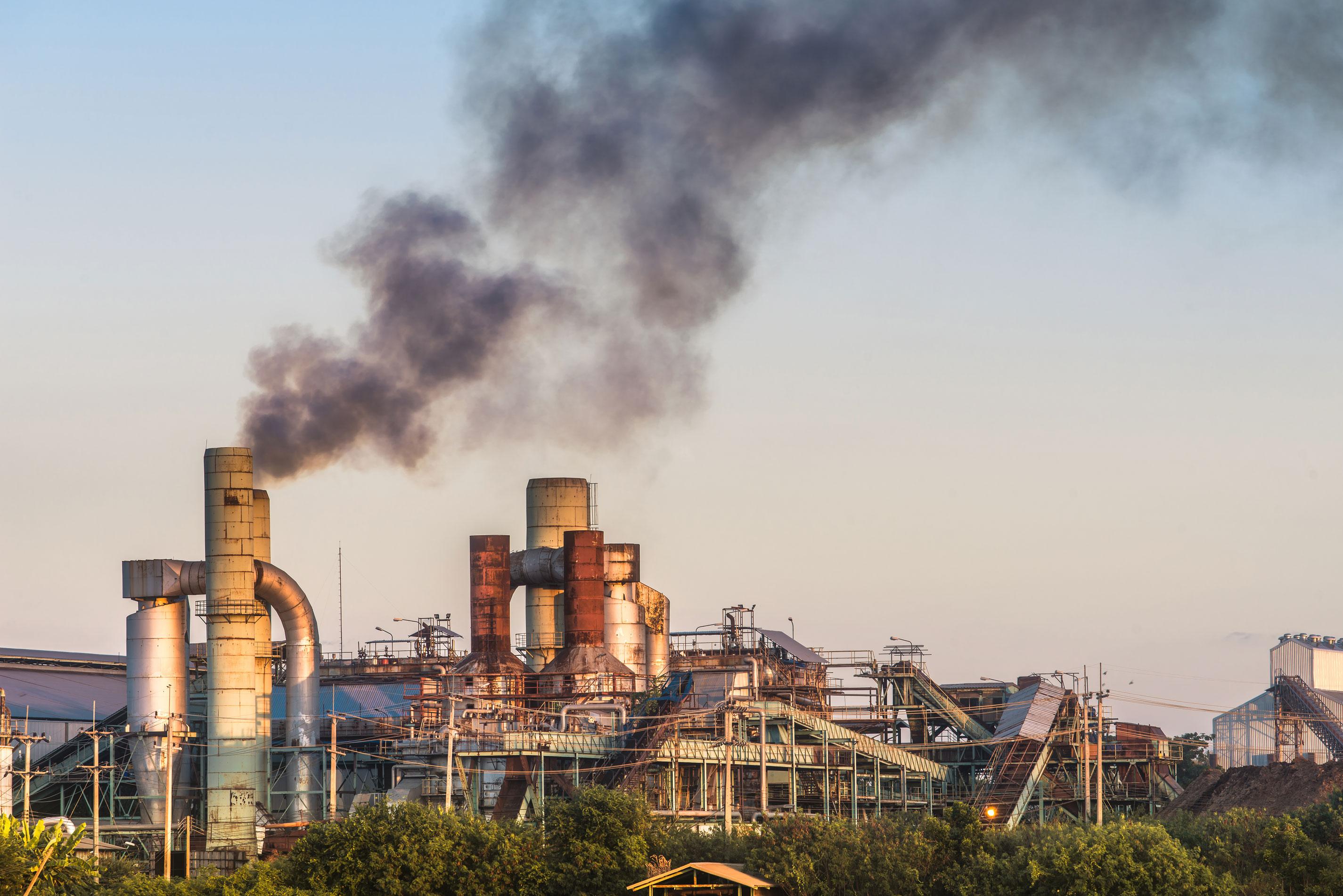 Der CO2-Ausstoß der Lebensmittelindustrie