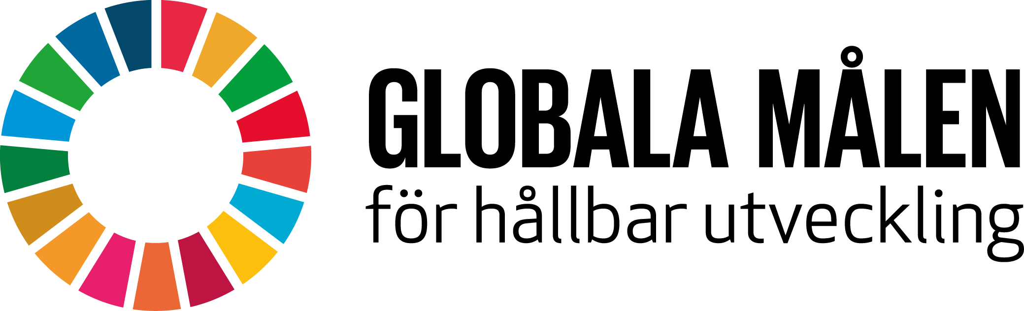Globala Målen för hållbar utveckling logotyp.