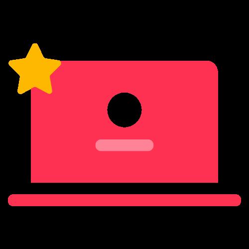 Dator expert ikon