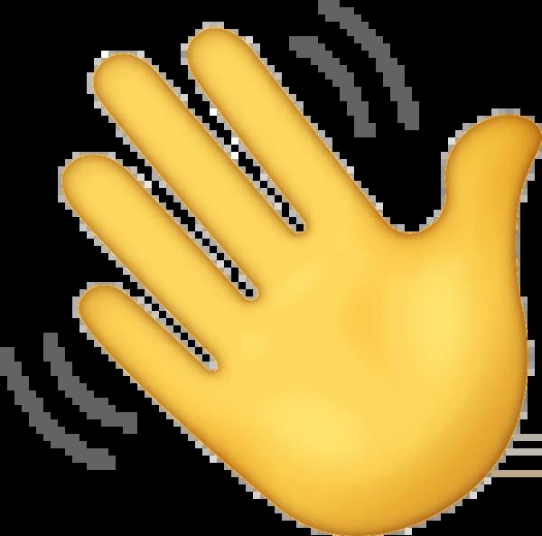 Viftande emoji