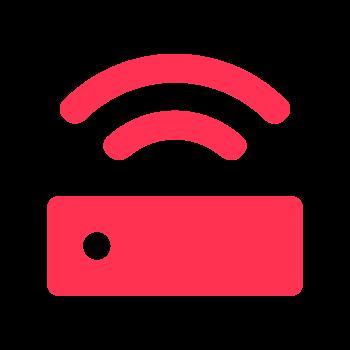 Rosa router ikon