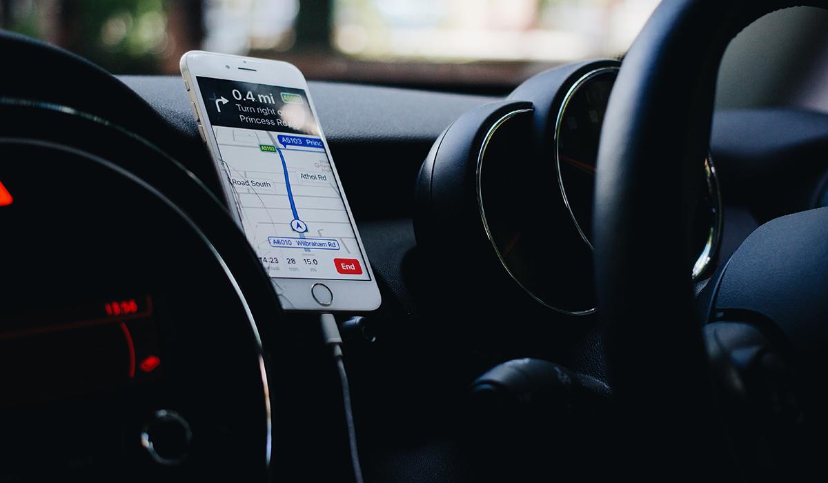 Ladda ner kartor till mobilen för att spara mobildata.