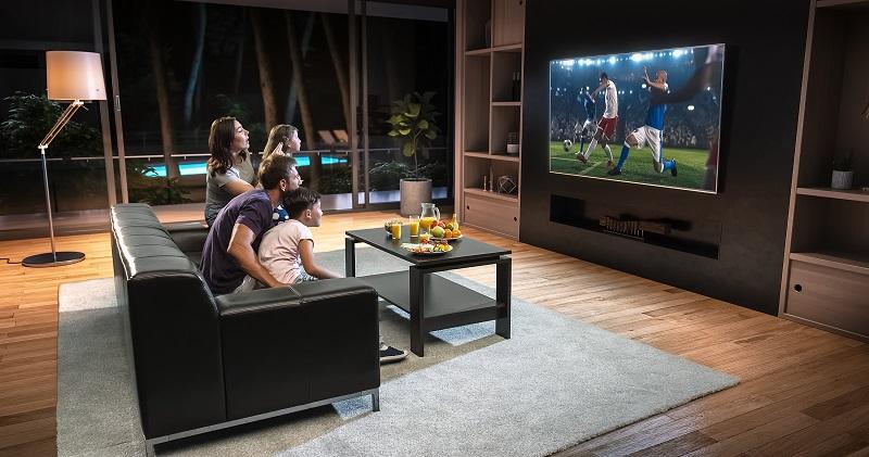 Bästa TV höjden och vinkeln