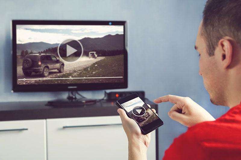 Styr din smarta tv från din iphone