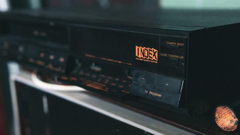 VHS-kasettspelare