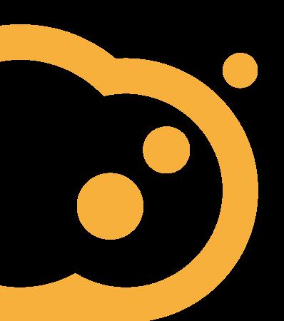 Talkative orange cloud