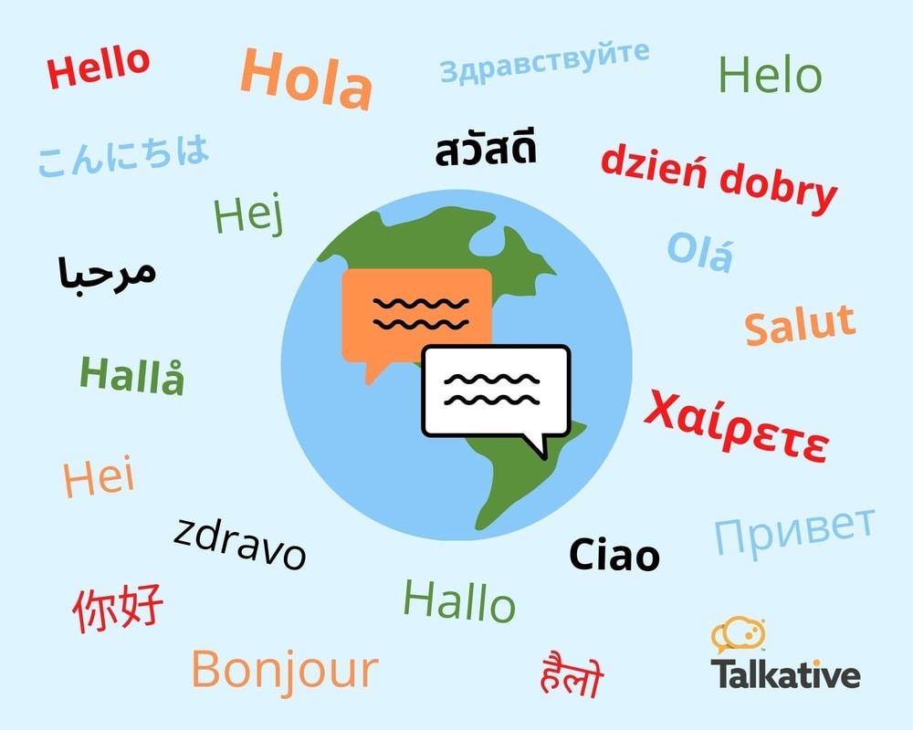Multilingual live chat