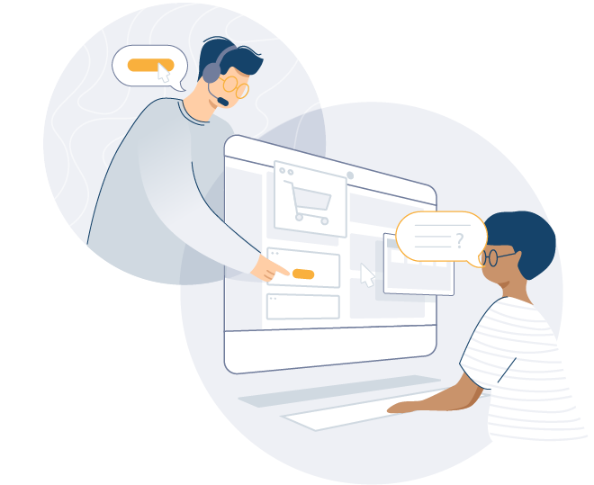 Cobrowse is a good visual tool to aid customer service