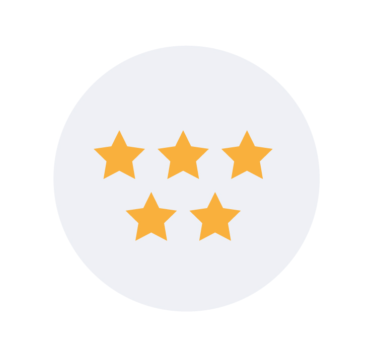 5 stars for customer experience